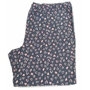 3/$25 Joe Boxer heart pajama pants